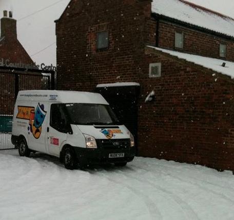 snow van